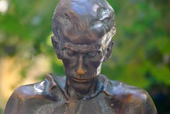 The Statue of Miklós Radnóti