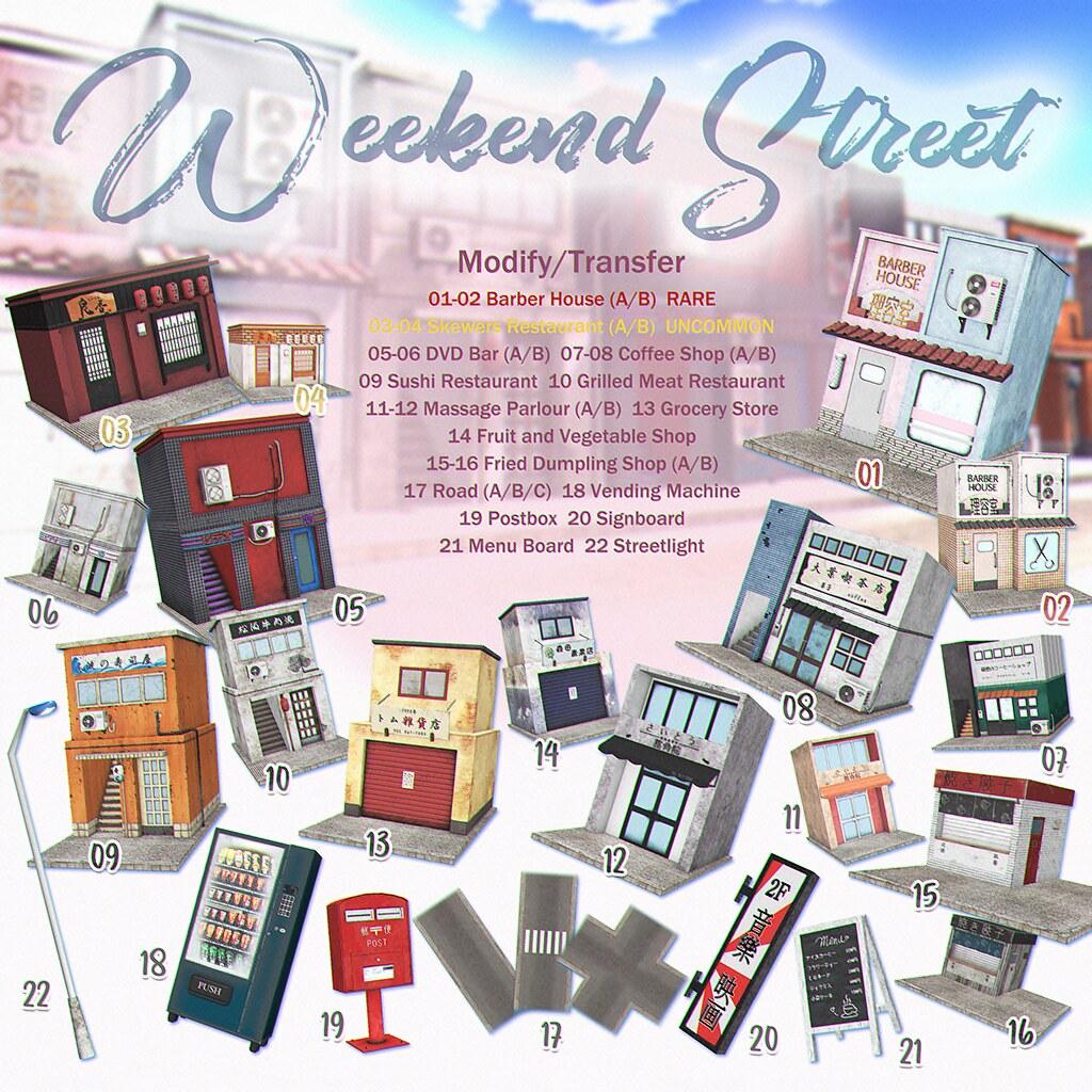 VOZ – Weekend Street Gacha