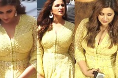 Parineeti Chopra Looks Pretty In Yellow Dress At Kesari Song Launch