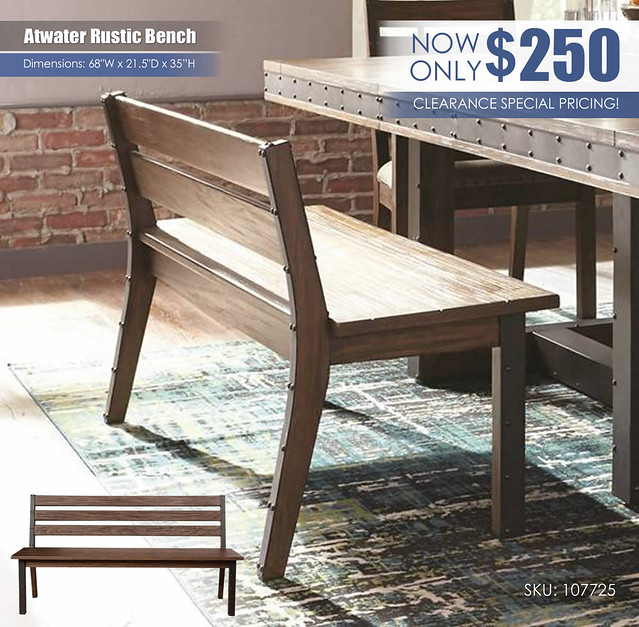 Atwater Bench_Clearance_107725