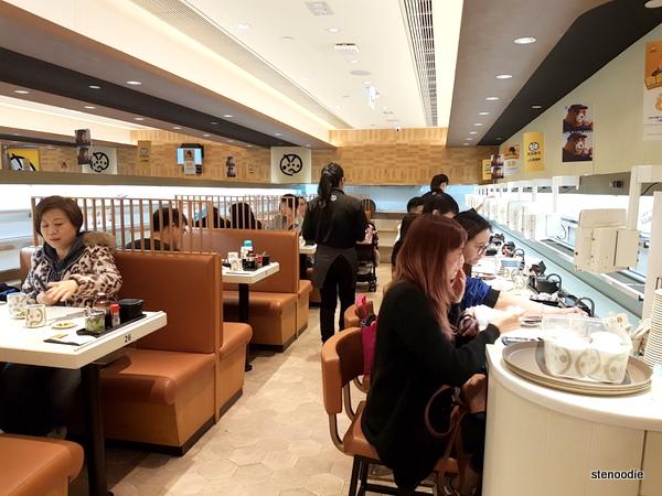 Genki Sushi interior