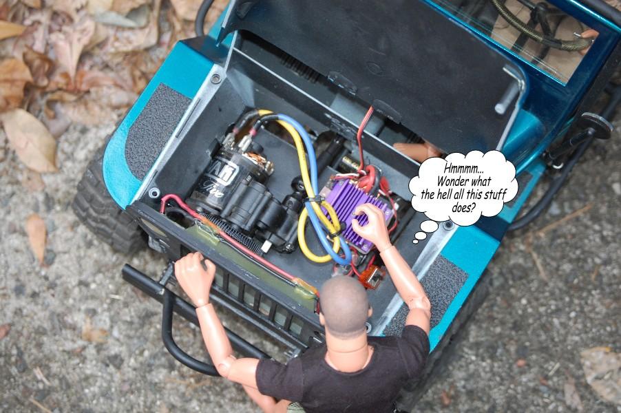 Building an RC sixth scale Jeep 39714671803_ab44298b0c_o