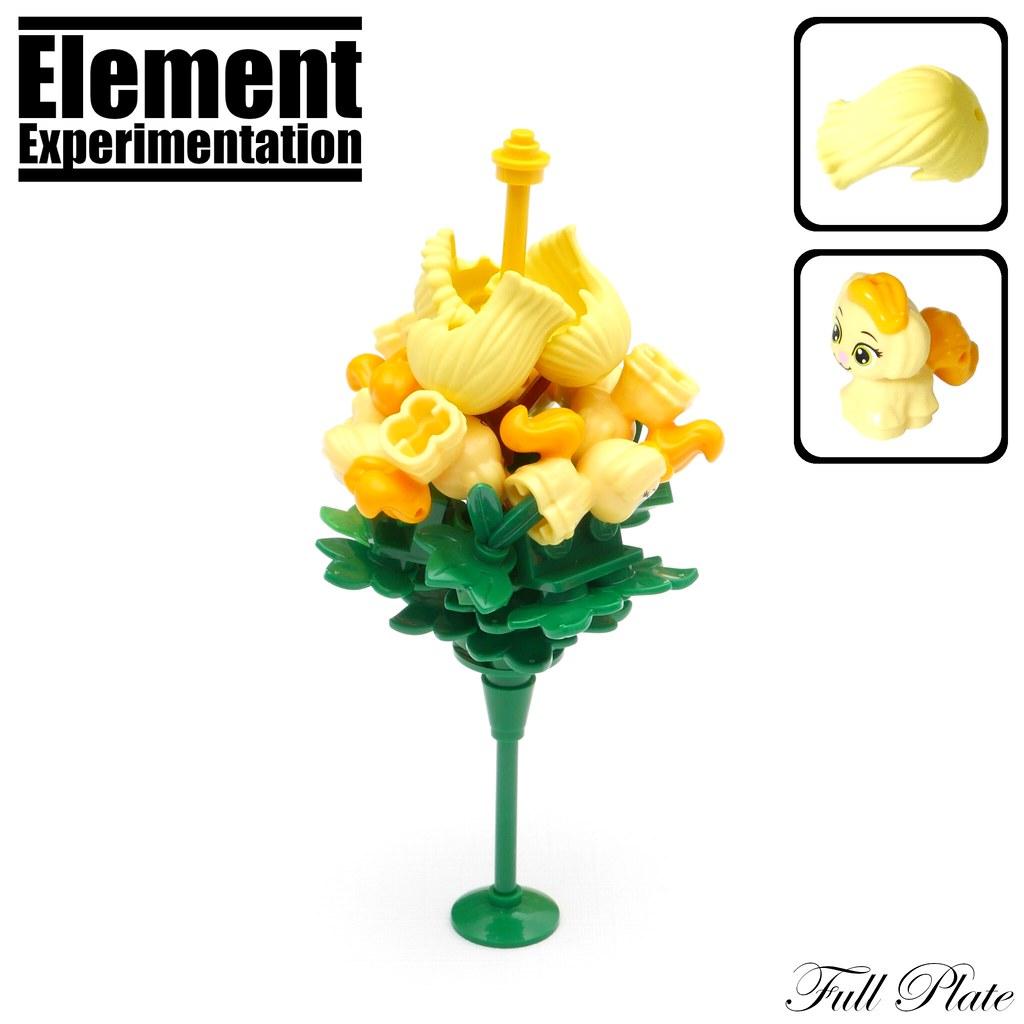 Element Experimentation: Puppy Flower