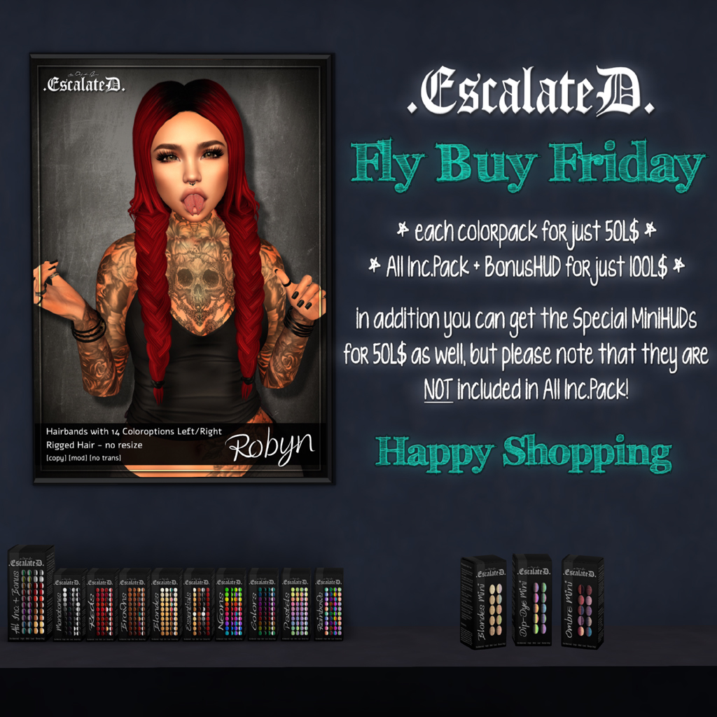 .EscalateD. | Fly Buy Friday | 15.Feb.19 - TeleportHub.com Live!