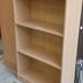 Maple tall open bookcase E120