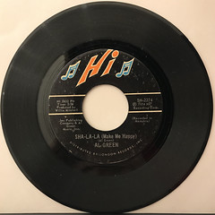 AL GREEN:SHA-LA-LA(MAKE ME HAPPY)(RECORD SIDE-A)
