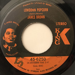 JAMES BROWN:LOWDOWN POPCORN(LABEL SIDE-A)