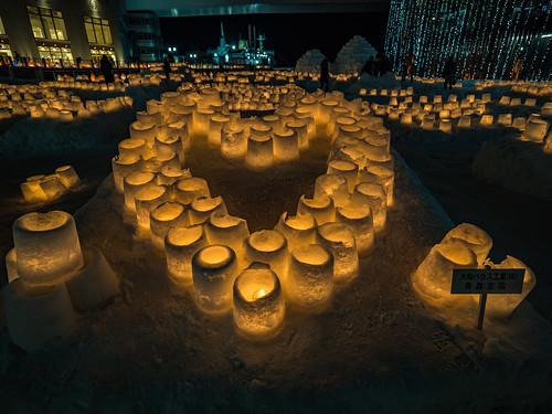 青森雪燈祭