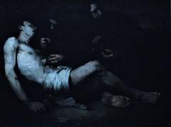 17 - Musée de Colombes - D'ombre et de lumière, Théodule Ribot - Saint Sébastien Martyr, Avant 1865, Huile sur toile