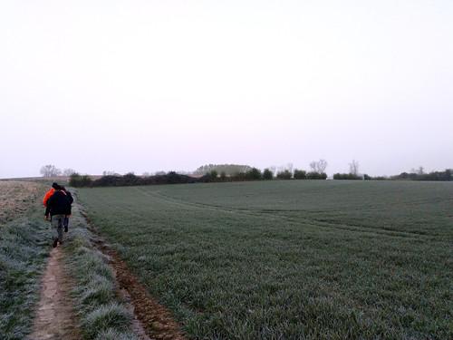 Akkervogelwandeling - de wandelaars