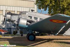 T2B-254-721-14---145---Spanish-Air-Force---CASA-352L-JU52---Madrid---181007---Steven-Gray---IMG_1492-watermarked