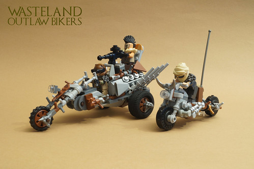 Wasteland Outlaw Bikers
