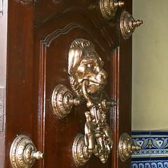 knocker on church door