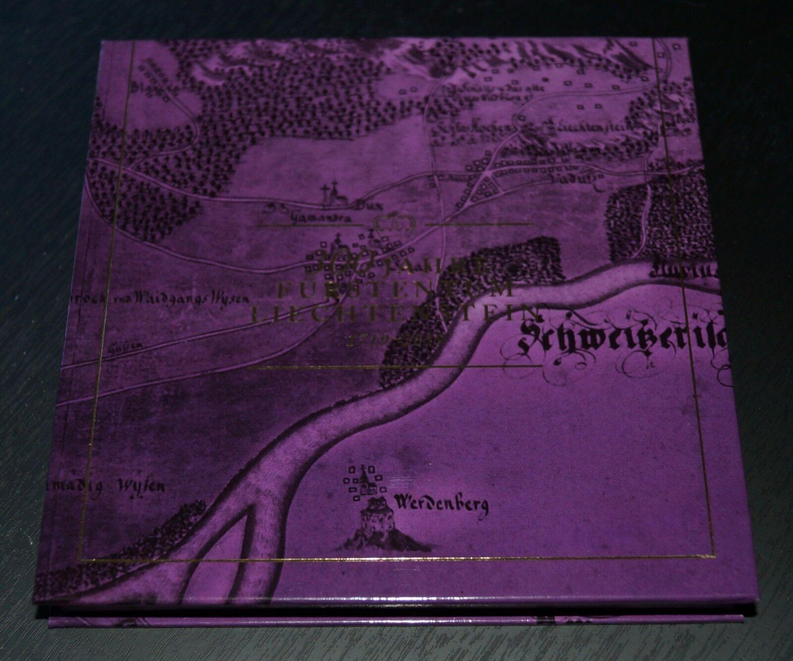 Liechtenstein - 300th Anniversary of Liechtenstein (January 23, 2019) gold thread variety presentation box
