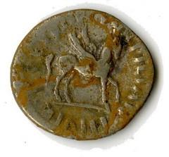 Warwickshire hoard silver Roman denarii reverse
