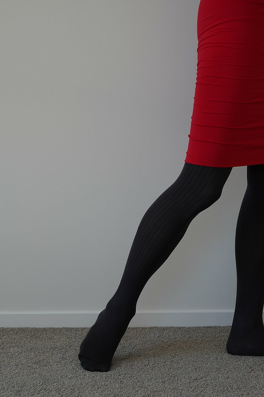 Wolford Fine Cotton Rib tights 15