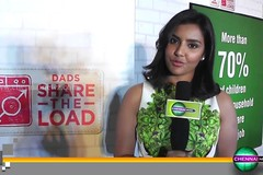 Actress Priya Anand at Ariel Dads Share the Load Campaign
