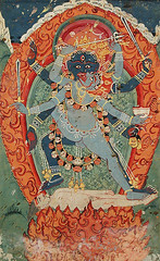 kali and bhairavi in union