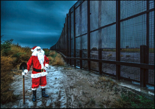 Santa Can't Climb Over The Wall #MLL051