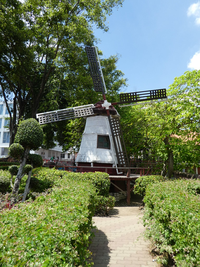 Dutch Windmill, Dutch Square, Malacca