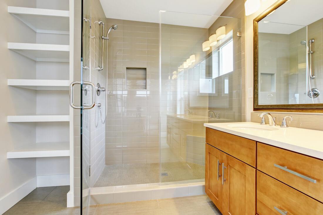 desain ruang shower
