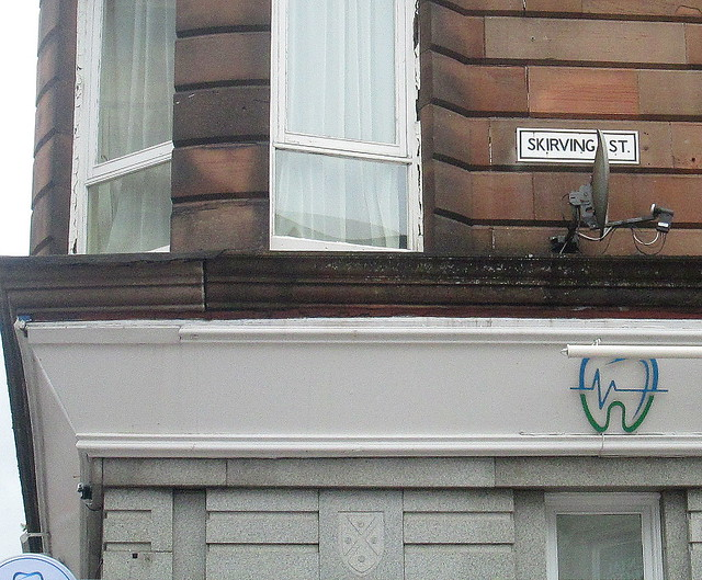 Fifth Skirving Street Sign, Glasgow