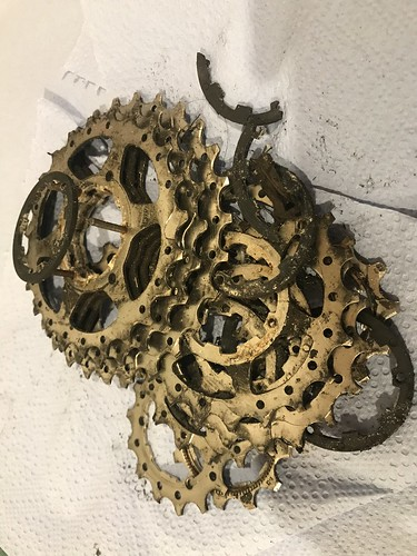 Destroyed Gear Cluster Sprockets