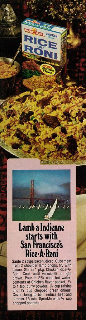 Rice-A-Roni 1973