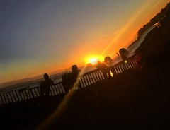 Sunset On West Cliff