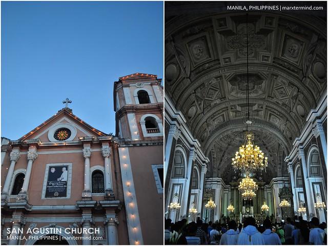 Wedding in San Agustin Church