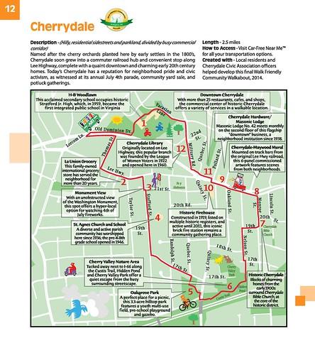 WalkArlington, Cherrydale neighborhood map