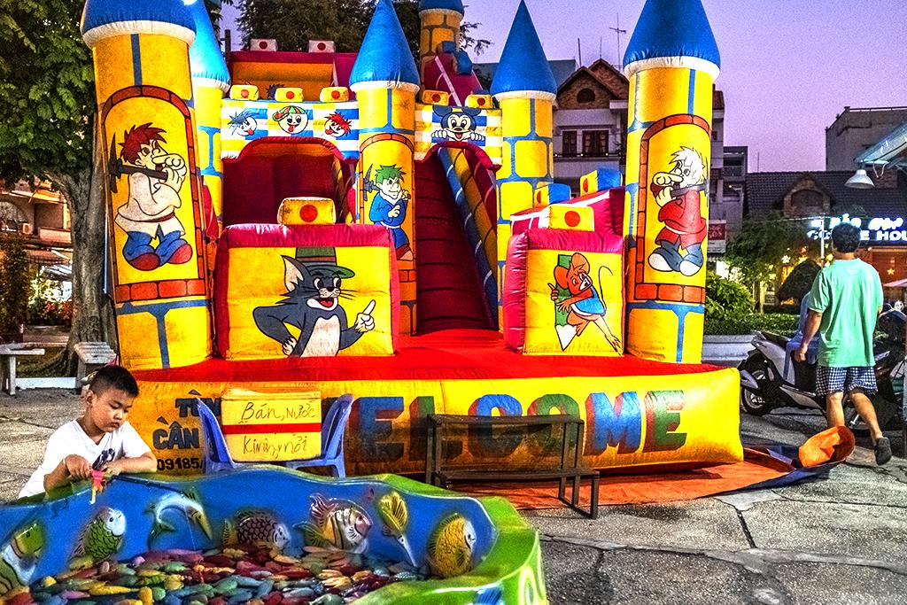 Mini amusement park in Phu Lam--Saigon
