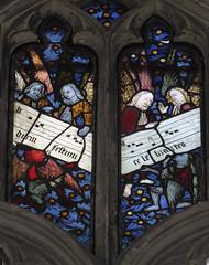 Warwick - Beauchamp Chapel Angel Traceries