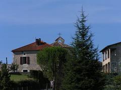20080916 37995 1017 Jakobus Haus Kirche Kreuz - Photo of Pern