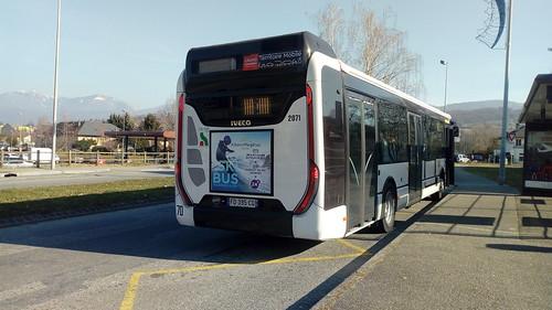 Iveco Urbanway 12 n°2071 du STAC