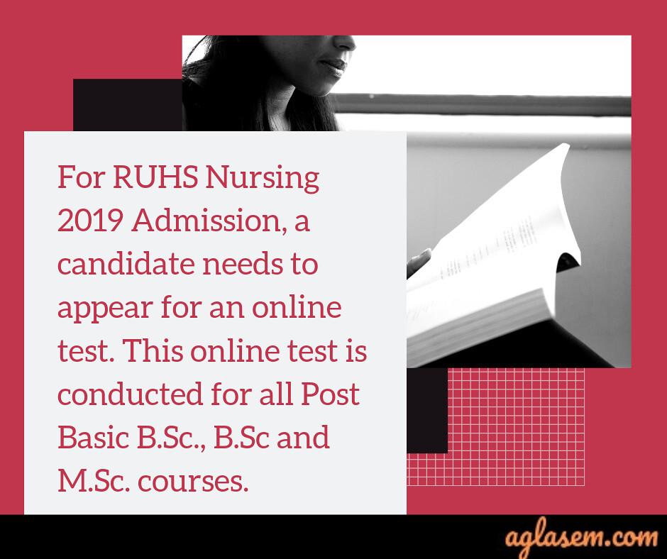 RUHS Nursing Admission 2019