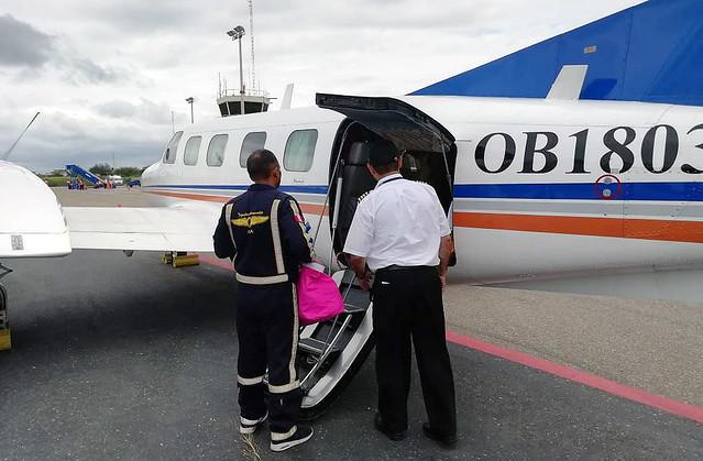 SALUDPOL financió ambulancia aérea desde Tumbes hasta Lima para recién nacido