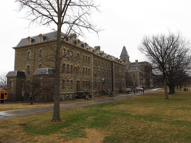 Photo:Arts Quad, Cornell University, Ithaca, New York By Ken Lund