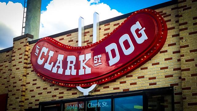 Clark Street Dog