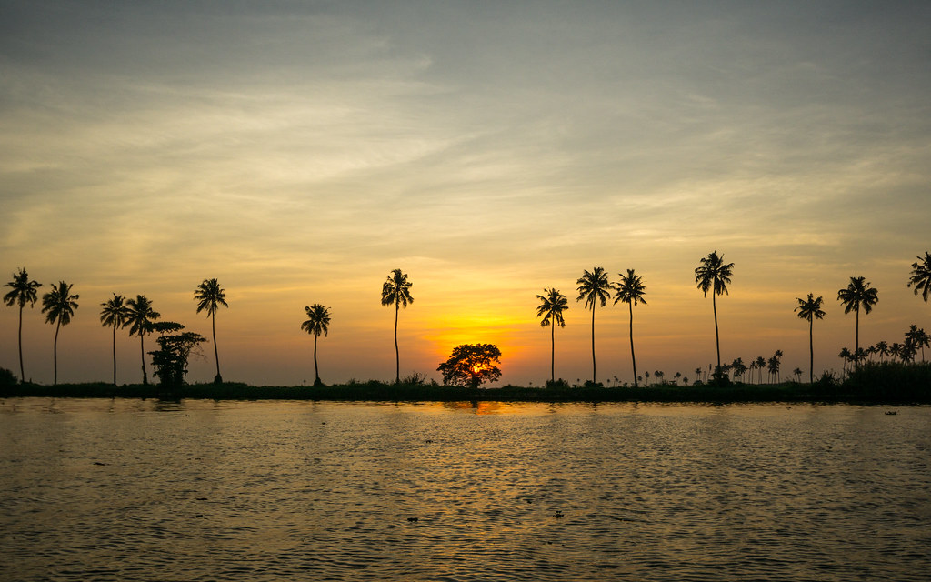 Sunset in Ernakulam, Kerala
