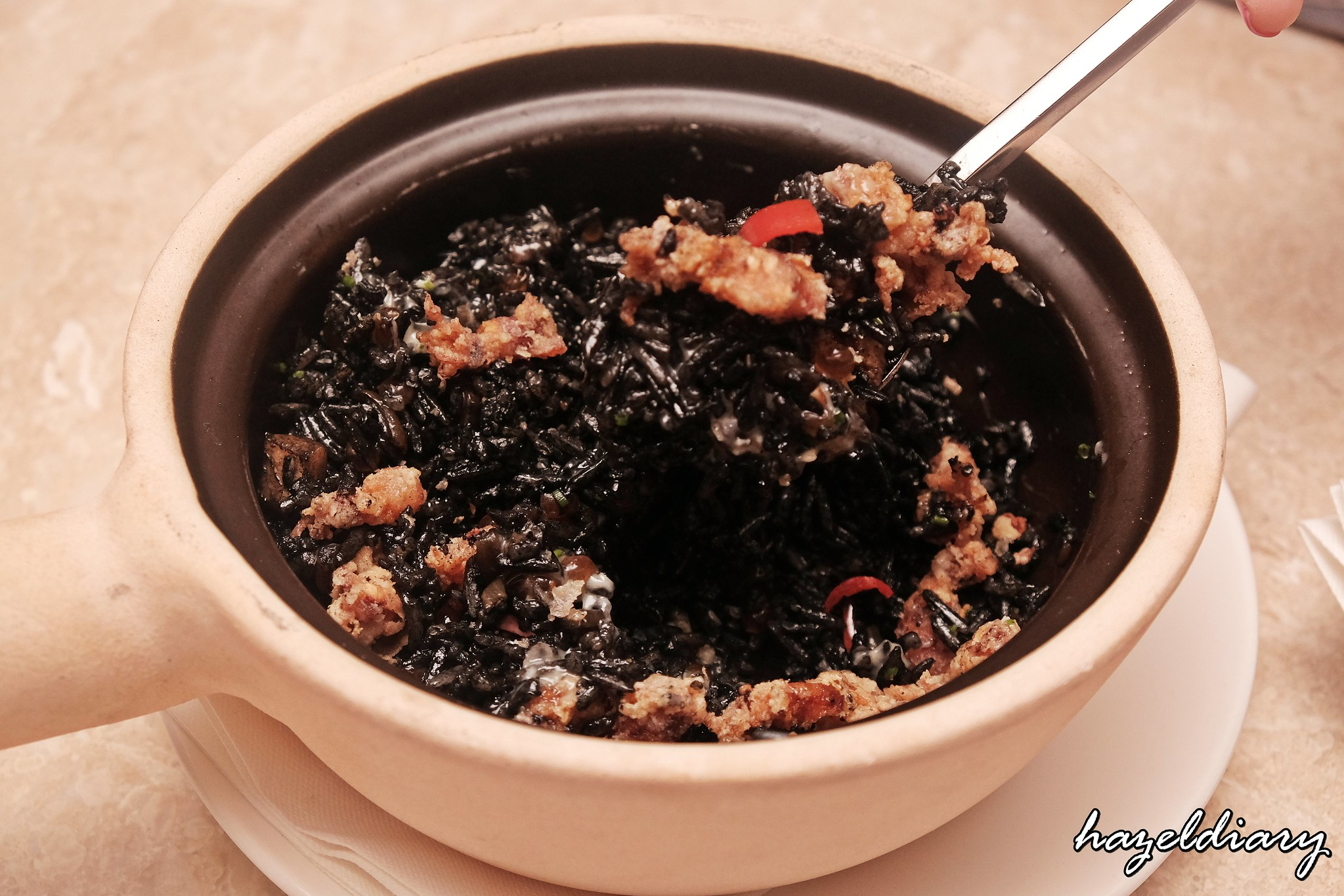 Kilo Kitchen Duxton Road-Black Ink Squid Rice-1