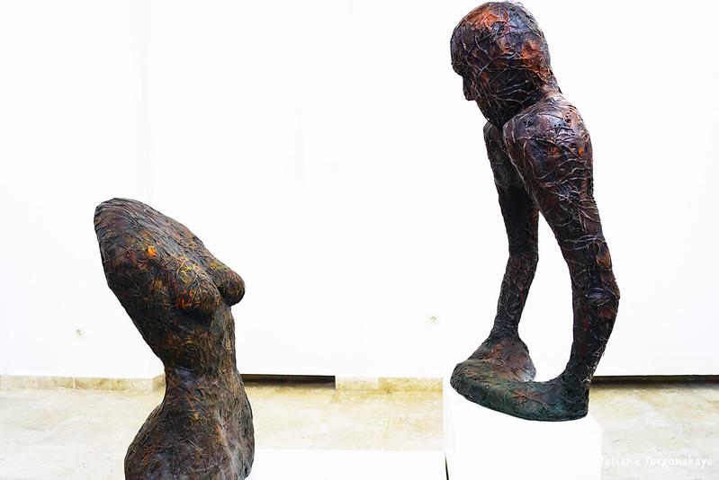 Элвир-Леро Адрович, скульптуры без названия