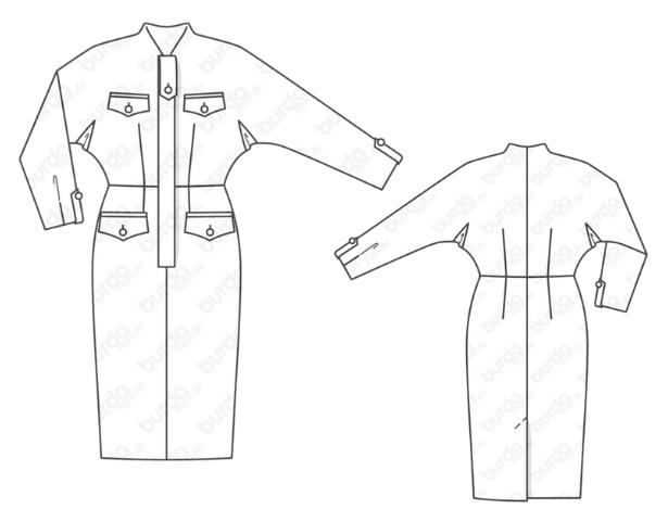 Retro Dress Technical