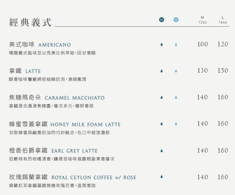 Cuiqu Coffee奎克咖啡台北忠孝店菜單價位價目表menu (3)