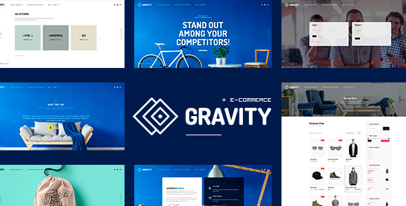 Gravity v1.0.3 - ECommerce, Agency & Presentation Theme