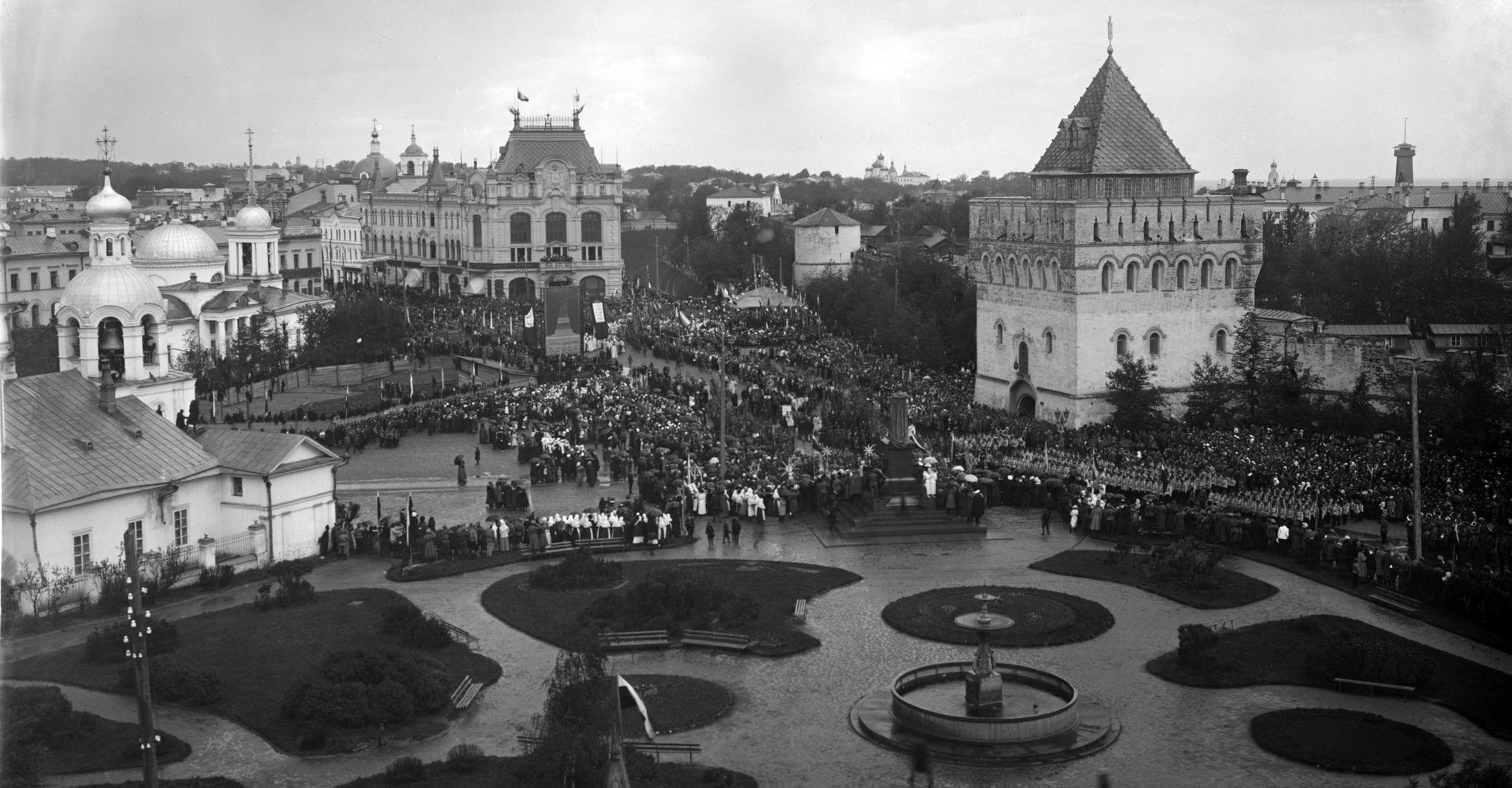 Манифестация на Благовещенской площади