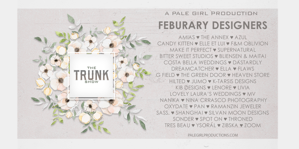 The Trunk Show February 2019 Designers