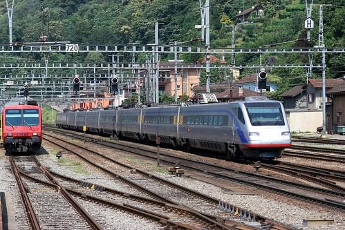 SBB ETR 470 003 Eurocity, Bellinzona