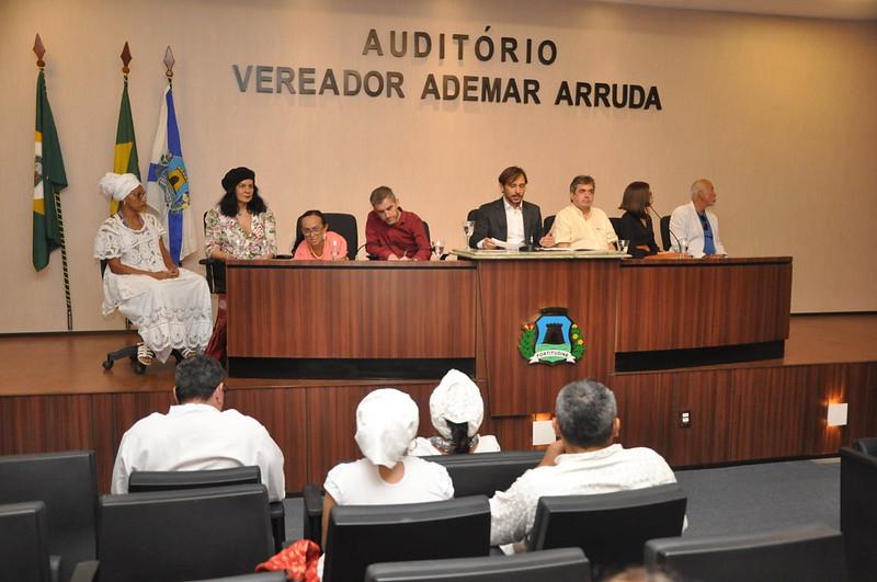 Audiência Pública para debater as medidas de salvaguarda relativas aos bens de natureza imaterial registrados como patrimônio cultural (21.03.2019)