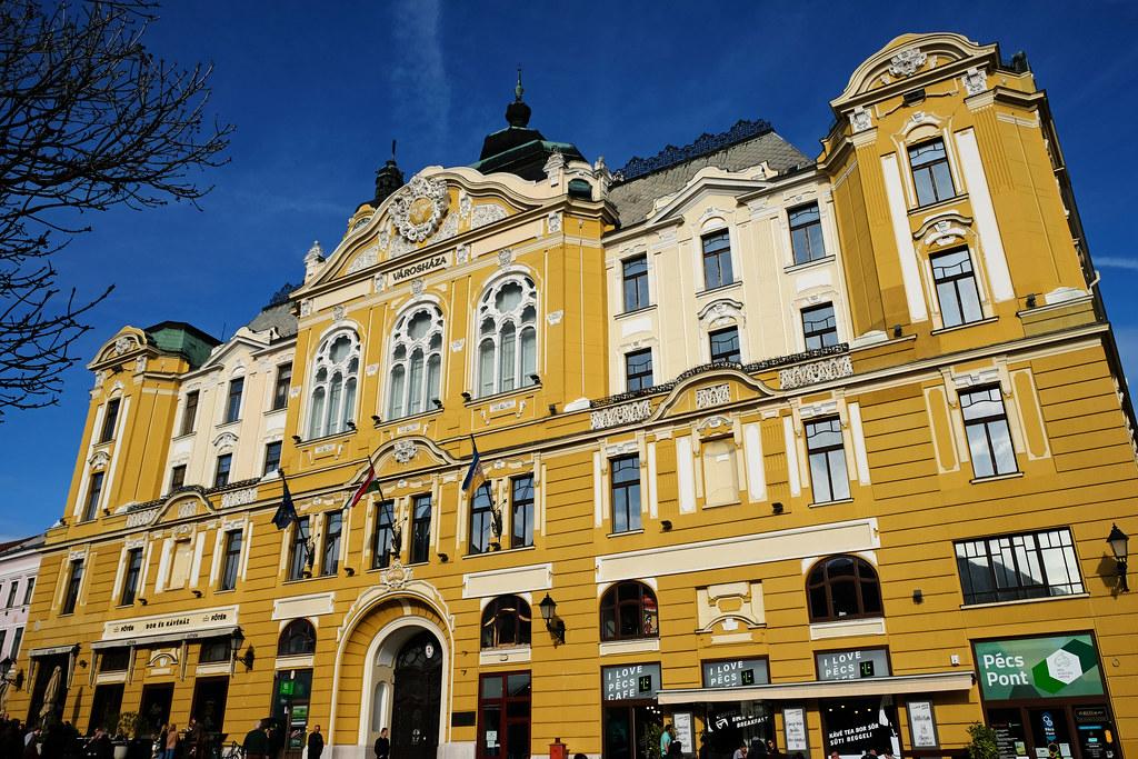 City Hall, Pécs, Hungary